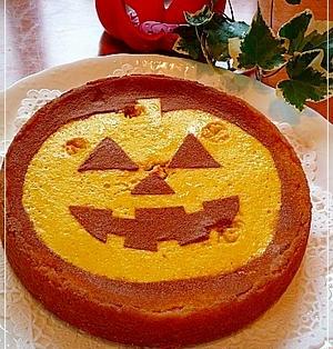 ハロウィン*ジャックオランタンdeかぼちゃタルト~♪