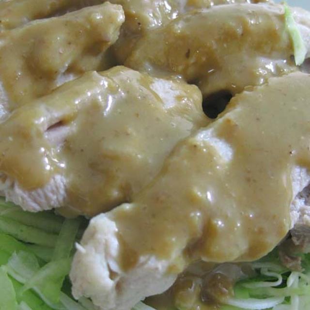 棒々鶏(バンバンジー)のごまだれレシピ