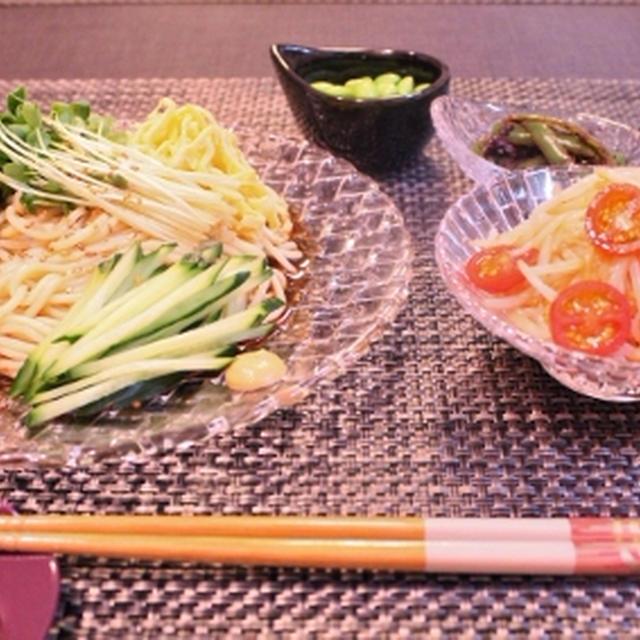 冷やし中華でボッチ飯