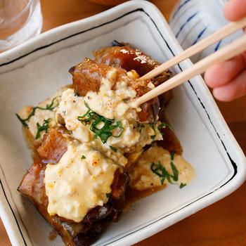 【レシピ】なすがジュワッ!『なすの肉巻き南蛮』