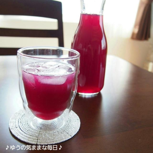 買いすぎた赤紫蘇でしそジュース☆週末の出来事