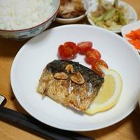 スタミナ料理☆鯖のガーリックソテー☆