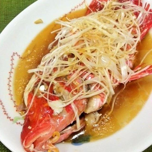 オジサンの清蒸魚(チンジョンユイ)
