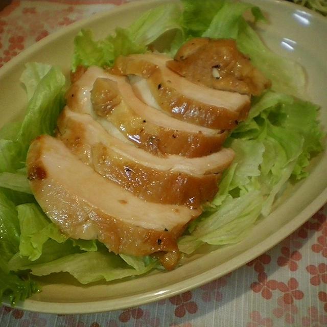 自家製鶏チャーシュウで、つけ麺だ〜♪