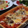 ズッキーニの簡単トマトグラタン