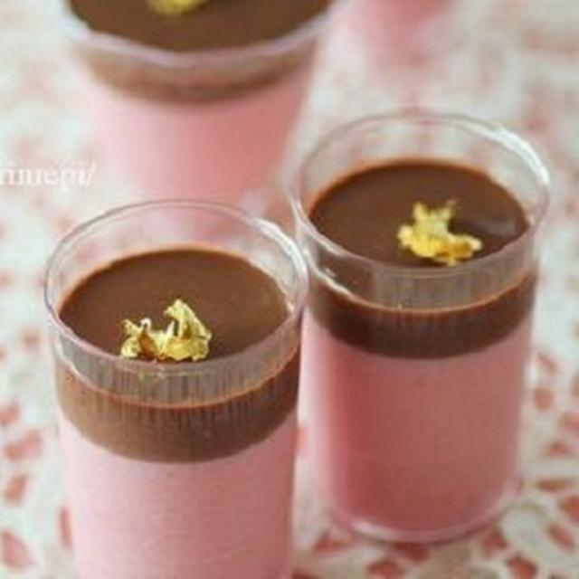 フランボワーズムース'n チョコプリン