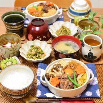 味しみしみ♫肉豆腐で夜ごはん