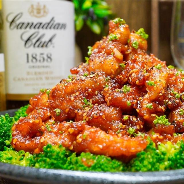 【レシピ】鶏せせりでプリプリ♬やみつきヤンニョムチキン♬
