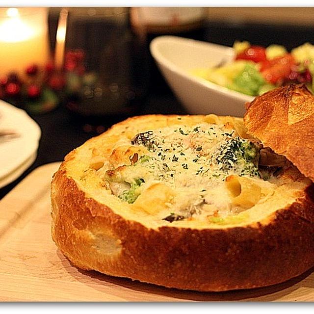 Sourdough Breadのボールでパングラタン