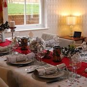 11月のクリスマス料理教室レポ(テーブル編)