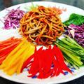 三度目の大邱レポ番外編、お土産レシピ。韓国風蕎麦サラダ、チェンバンククス作ってみた。おまけは「今日なに食べる?」のタッカルビ。