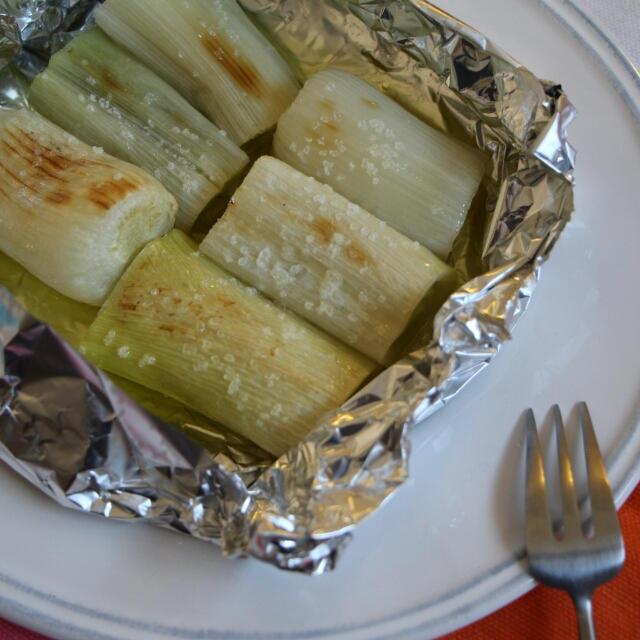 【簡単!シンプル!!】トロッと美味しい♪長ネギのトースター焼き