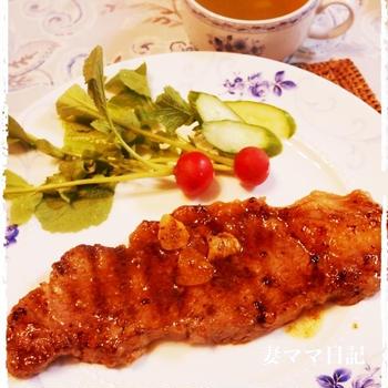 おうちステーキ♪ beef steak
