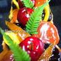 アメリカンチェリーとドライフルーツのパウンドケーキでカラダ美人☆彡