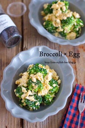 ボリュームも栄養もアップ!サラダに「炒り卵」を入れてみて♪