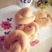 豆乳ときな粉のパン。と、ありのままの〜。