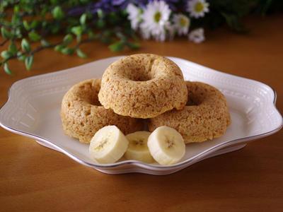 ホットケーキミックスとココナッツオイルの超簡単シンプル焼きドーナツ