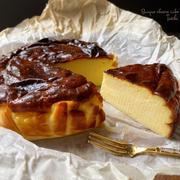 ワンランクアップ美味しくなるバスクチーズケーキ