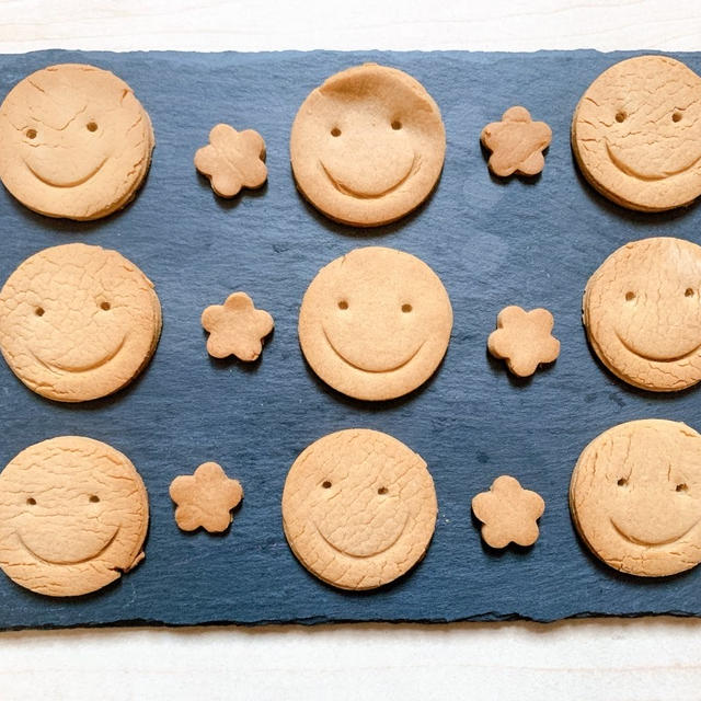 【レシピ】卵、乳製品不使用。子供も安心なマクロビ玄米クッキー