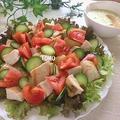 ボリューム満点♪鶏胸肉とジャガイモの親子サラダ
