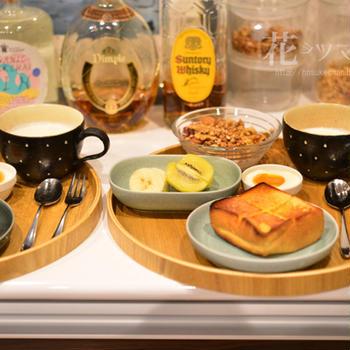 「朝食前のコーヒーを我慢する」