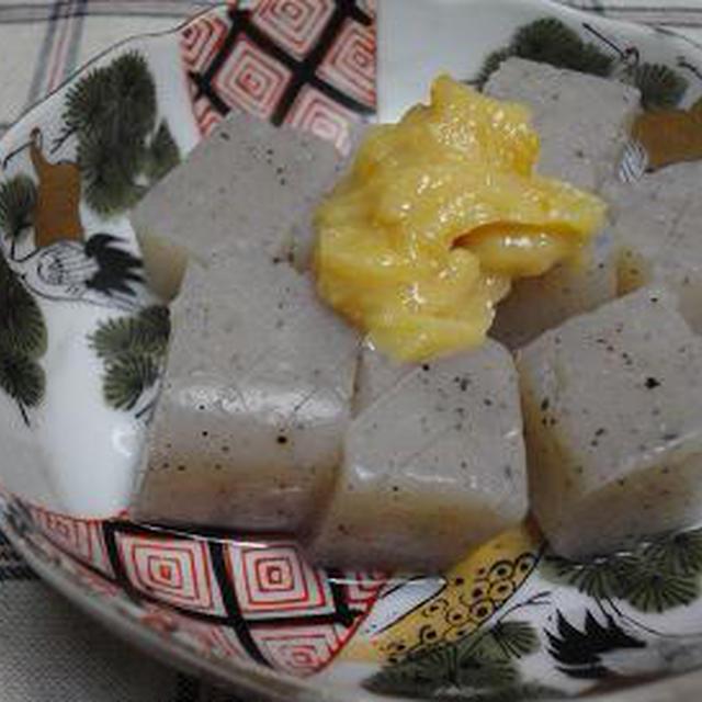 ☆こんにゃくの柚子味噌田楽☆