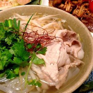 いろいろな食材でバラエティ豊かに♪ベトナム料理「フォー」を作ろう♪
