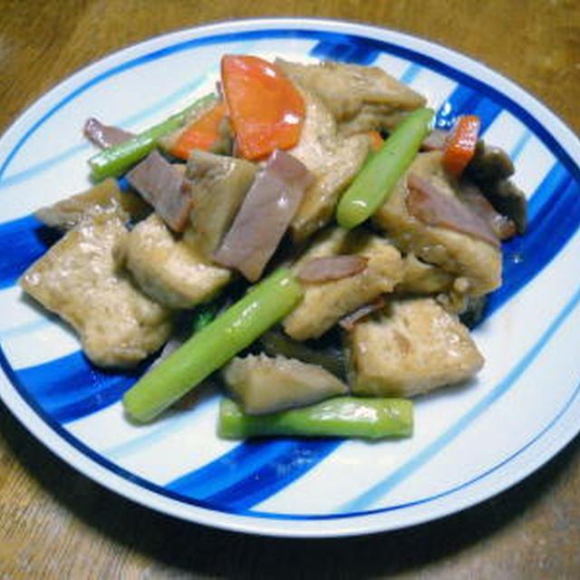 五目豆腐煮