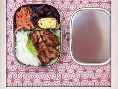 >さんまの蒲焼きのおべんと。 by izumi_obentoさん