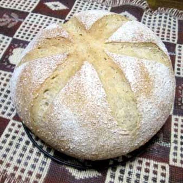 素朴な味わい♪noグラハムパン