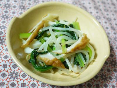 >小松菜とちくわの炒めもの by kazucさん