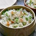 香りにうっとり♪ 豆苗と梅干しの炊き込み御飯(混ぜご飯) by OTOKOMAE KITCHEN MARI'sさん