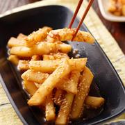 ポリポリ大根のスタミナ漬け【#作り置き #お弁当 #切って漬けるだけ #無限 #やみつき #大量消費 #おつまみ #副菜】