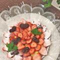 誕生日ケーキは全粒粉タルト生地で苺のカスタードクリームタルト~♪♪今日の富士山 by pentaさん
