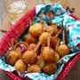 ■お豆腐ドーナツ生地で★ふわもち~なミニアメリカンドッグ