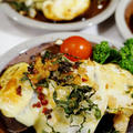 簡単!美味しい!【カリカリドライ梅乗せ 茄子のチーズ焼き】Meijiさんのスライスチーズモニターです♪ by あきさん