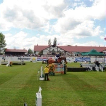 2013年 Spruce Meadow(馬の競技会)