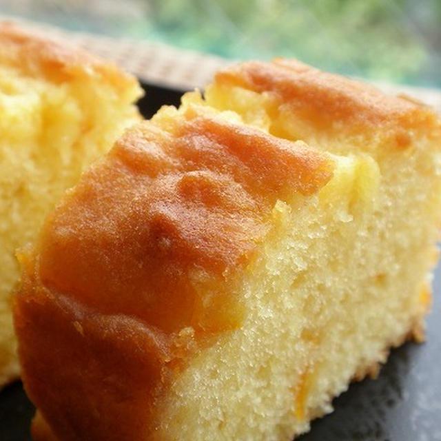 ★レシピ★ オレンジとクリームチーズのケーキ