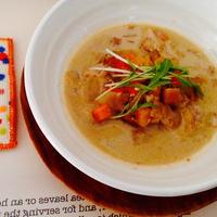 甘酒と生姜のほっとスープ
