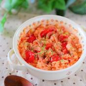 トマトとベーコンの和洋風リゾット