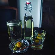 梅シロップ仕上がりました❤️取り出した梅ではんなり美味しい甘露煮❤️