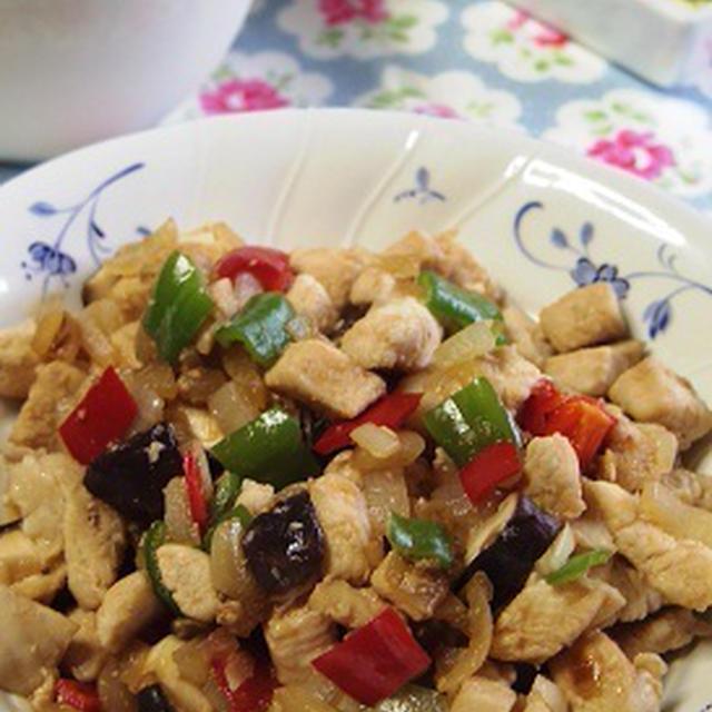 鶏ムネ肉の塩麹炒め