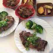 厚揚げの牛巻きステーキの置き晩ごはんと、動画レシピ公開になっています