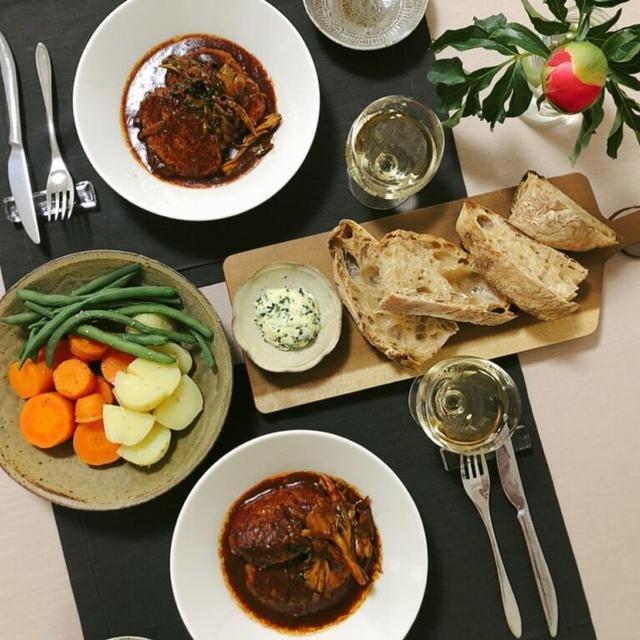 【ハインツ】市販の煮込みハンバーグソースを使って洋食屋さんの味を楽しめます!【時短調理】