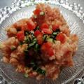 奥三河トマトで作る、食べるガスパチョシャーベットのレシピ | 暑い夏に最適なレシピ by comodo【10秒迷路】さん