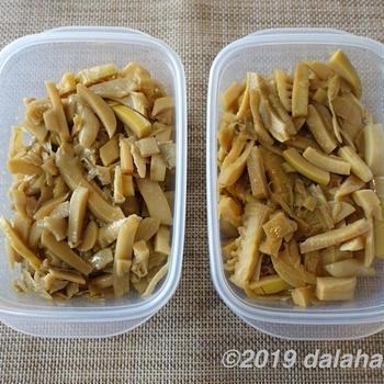【レシピ】筍から自分でつくる自家製メンマ 冷蔵冷凍保存できるストックレシピ