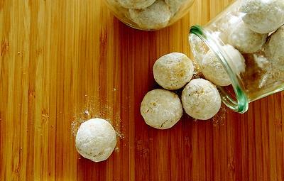 南瓜のスノーボールと失敗パン&おちびさん・・にゃ♪