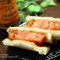 【厚切りが美味しい! ~ 厚切りトマトステーキサンド。 】