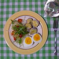 放置式ゆで卵のおつまみ