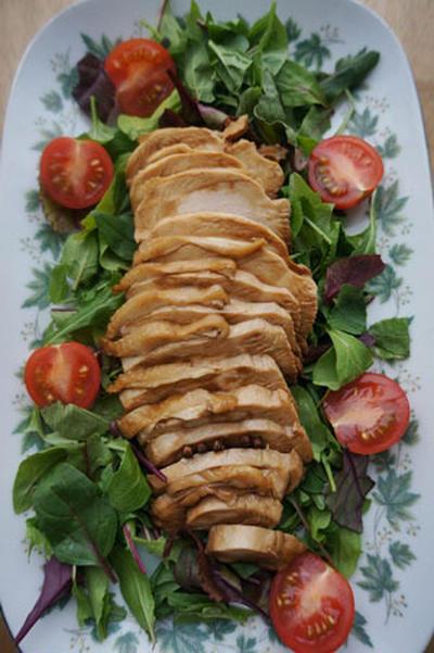鶏胸肉のやわらか照り焼きチキン